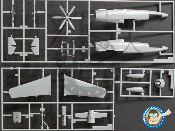 Image 1: Nakajima G8N & Kyushu J7W1 Shinden | Airplane kit in 1/72 scale manufactured by Hasegawa (ref.00987)