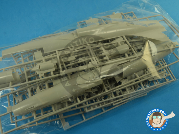 Image 3: Lockheed F-104 Starfighter C | Airplane kit in 1/48 scale manufactured by Hasegawa (ref. 07219)