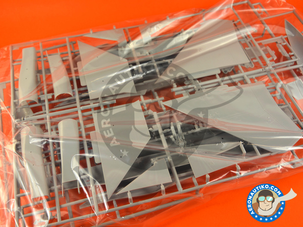 Image 4: McDonnell Douglas F-15 Eagle E | Airplane kit in 1/48 scale manufactured by Hasegawa (ref.07318)