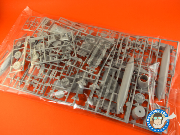 Image 6: McDonnell Douglas F-15 Eagle E | Airplane kit in 1/48 scale manufactured by Hasegawa (ref.07318)