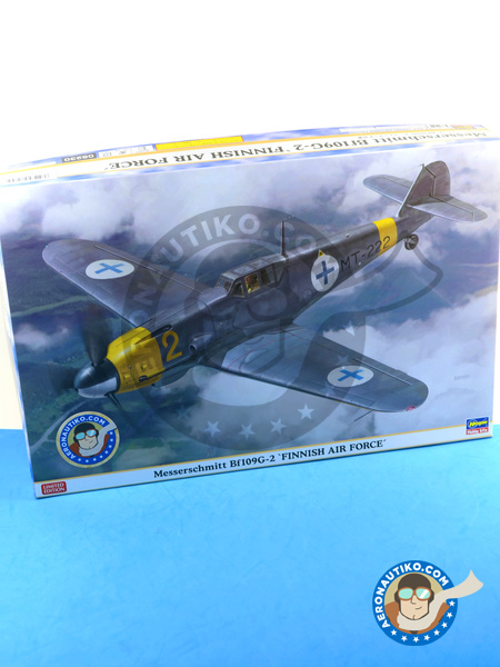 Messerschmitt Bf 109 G-2   Airplane kit in 1/32 scale manufactured by Hasegawa (ref.08230) image