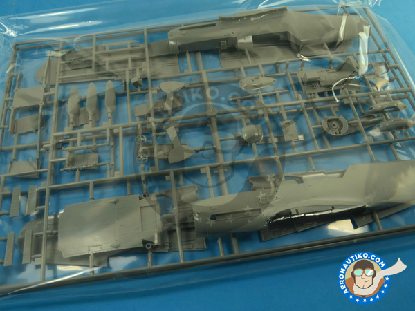 Image 8: Messerschmitt Bf 109 G-2   Airplane kit in 1/32 scale manufactured by Hasegawa (ref.08230)