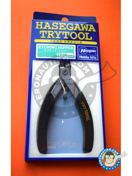 Photo-Etched Nipper | Tools manufactured by Hasegawa (ref. HSGTT-14) image