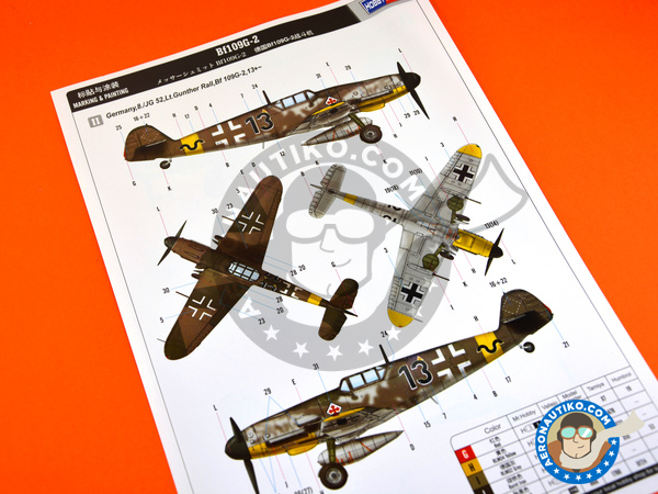 Image 6: Messerschmitt Bf 109 G-2 | Airplane kit in 1/48 scale manufactured by Hobby Boss (ref. 81750)