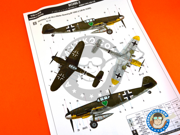 Image 7: Messerschmitt Bf 109 G-2 | Airplane kit in 1/48 scale manufactured by Hobby Boss (ref. 81750)