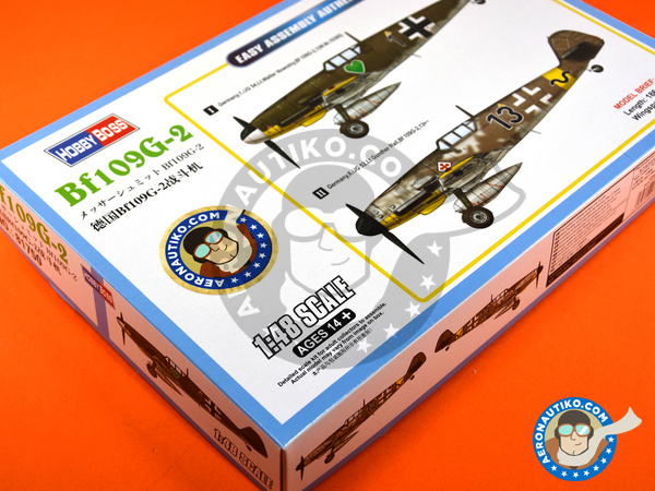 Image 12: Messerschmitt Bf 109 G-2 | Airplane kit in 1/48 scale manufactured by Hobby Boss (ref. 81750)