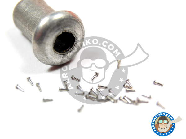 Image 1: Rivet head 0.75mm | Rivets manufactured by Hobby Design (ref.HD07-0004)