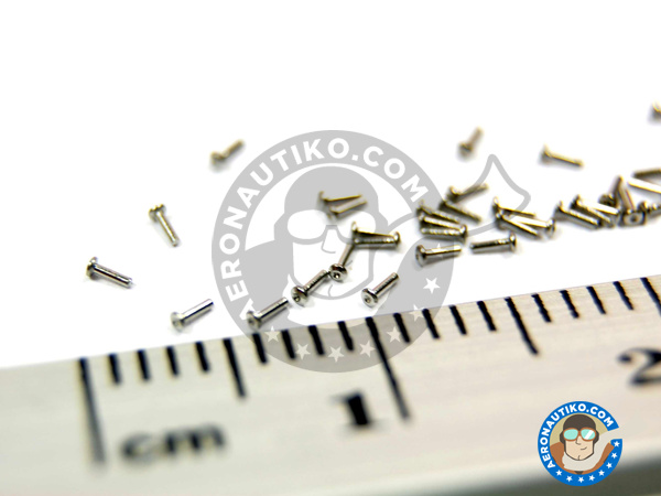 Image 4: Rivet head 0.75mm | Rivets manufactured by Hobby Design (ref.HD07-0004)