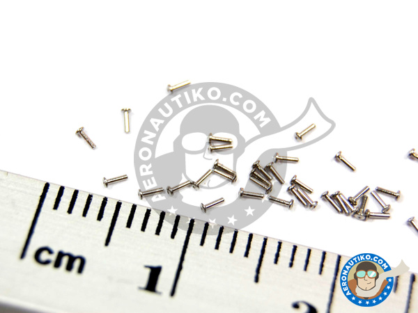 Image 5: Rivet head 0.75mm | Rivets manufactured by Hobby Design (ref.HD07-0004)
