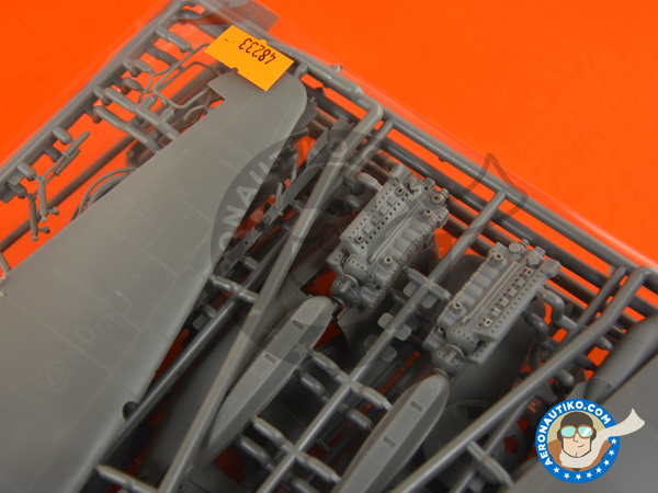 Image 3: Junkers Ju 88 A-4 | Airplane kit in 1/48 scale manufactured by ICM (ref. 48233)
