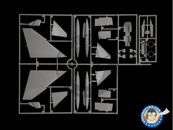 Image 3: McDonnell Douglas F-4 Phantom II C / D / J | Airplane kit in 1/72 scale manufactured by Italeri (ref.1373)