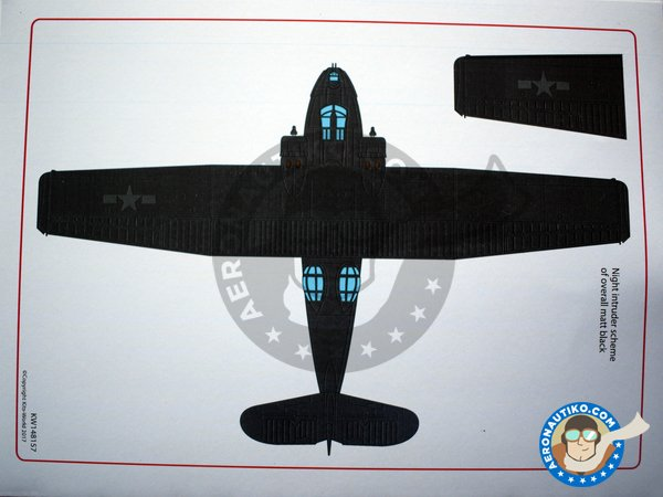 Image 4: Consolidated PBY Catalina | Marking / livery in 1/48 scale manufactured by Kits World (ref. KW148157)