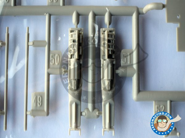 Image 7: Tiger II F-5F twin seat version. | Airplane kit in 1/32 scale manufactured by Kitty Hawk (ref.KH32019)