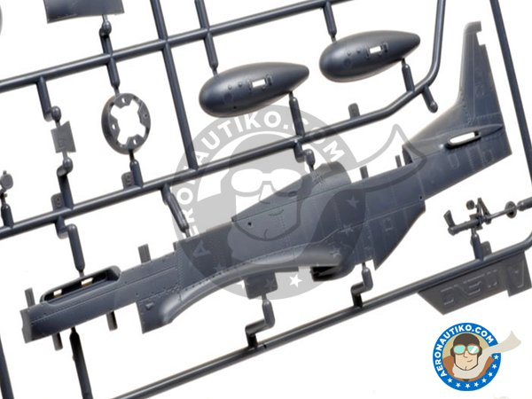 Image 1: North American P-51D Mustang Fighter | Airplane kit in 1/48 scale manufactured by Meng Model (ref.LS-006)