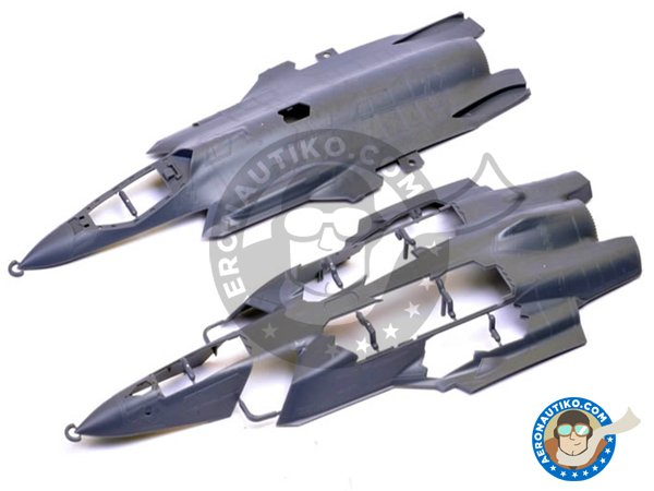 Image 1: Lockheed-Martin F-35A Lightning II | Airplane kit in 1/48 scale manufactured by Meng Model (ref. LS-007)