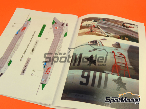 Image 2: Mikoyan-Gurevich MiG-21 Fishbed MF | Masks in 1/72 scale manufactured by Montex Mask (ref. MD7201)