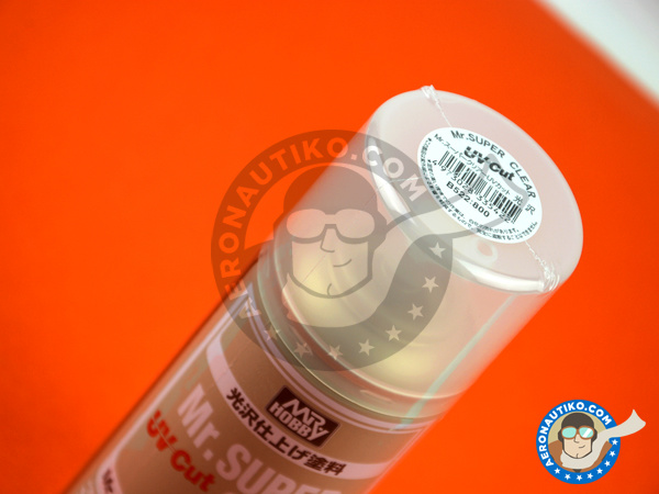 Image 2: Mr. Super Clear Gloss UV Cut | Clearcoat manufactured by Mr Hobby (ref. B-522)