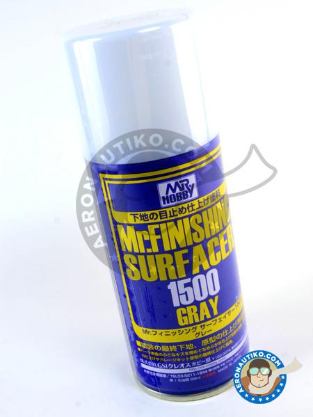 Mr Surfacer 1500 grey - 170ml | Primer manufactured by Mr Hobby (ref.B-527) image