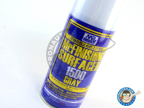 Image 1: Mr Surfacer 1500 grey - 170ml | Primer manufactured by Mr Hobby (ref.B-527)