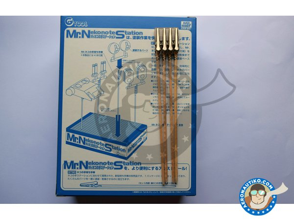 Image 5: Mr. Nekonote Station | Tools manufactured by Mr Hobby (ref. GT89)