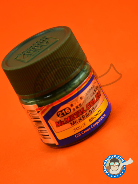 Bronze | Mr Color paint manufactured by Mr Hobby (ref.MC-216) image