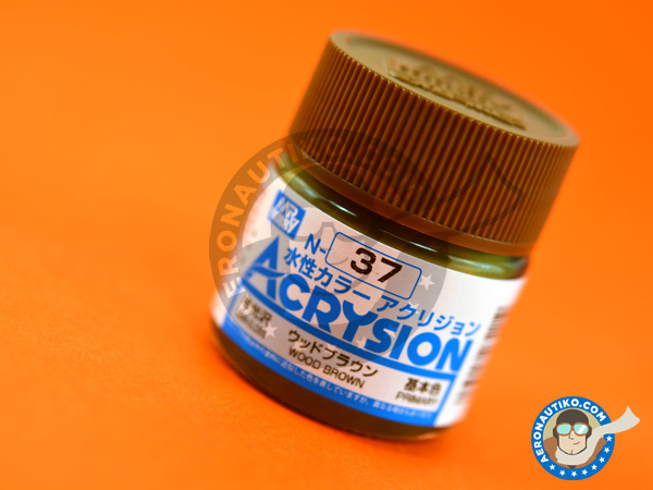 Image 1: Wood brown | Acrylic paint manufactured by Mr Hobby (ref.N-037)