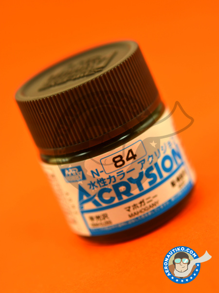Mahogany brown | Acrysion Color paint manufactured by Mr Hobby (ref. N-084) image