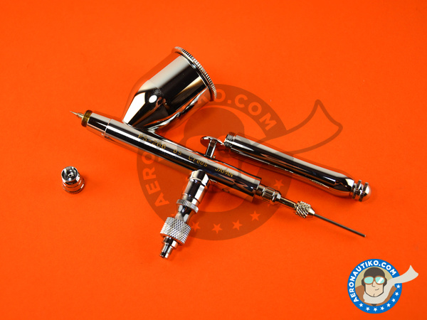 Image 1: Procon boy LWA doble action 0.5mm | Airbrush manufactured by Mr Hobby (ref. PS-266)