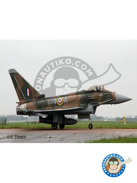 100 Years RAF: Eurofighter Typhoon | Airplane kit in 1/72 scale manufactured by Revell (ref. 03900) image