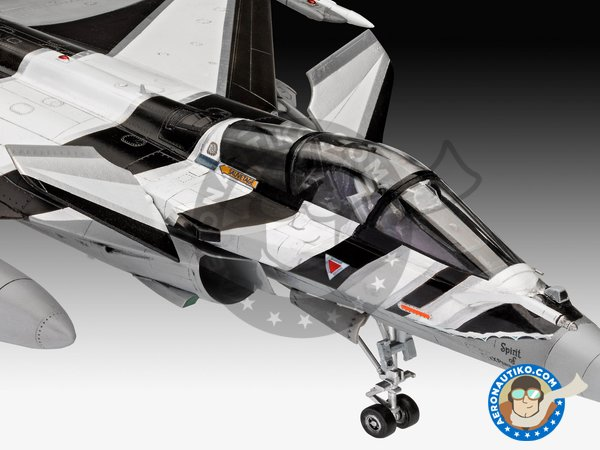 Image 2: Dassault Rafale C | New July 2018 | Airplane kit in 1/48 scale manufactured by Revell (ref. 03901)