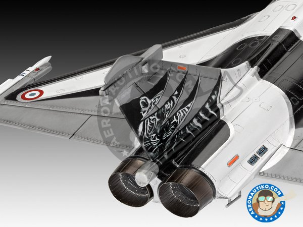 Image 5: Dassault Rafale C | New July 2018 | Airplane kit in 1/48 scale manufactured by Revell (ref. 03901)
