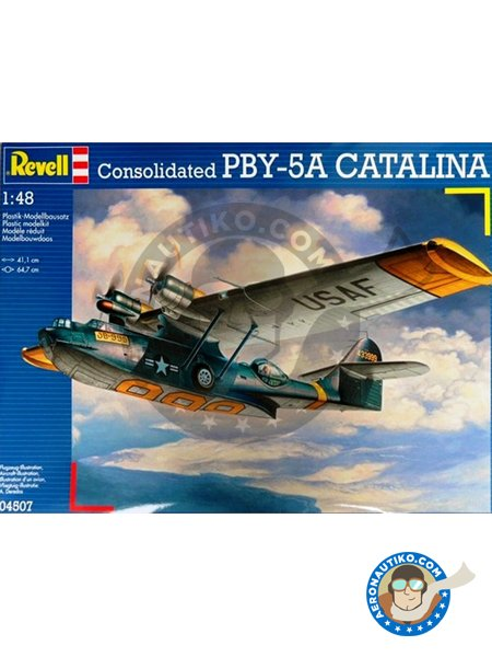 Consolidated PBY-5A Catalina | Airplane kit in 1/48 scale manufactured by Revell (ref. 04507) image