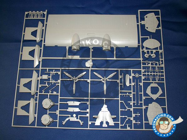 Image 2: Consolidated PBY-5A Catalina | Airplane kit in 1/48 scale manufactured by Revell (ref. 04507)