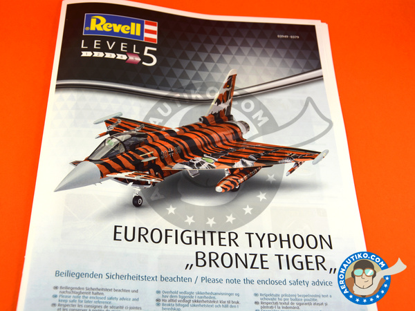 Image 3: Eurofighter Typhoon EF-2000 Single Seater | Airplane kit in 1/48 scale manufactured by Revell (ref.REV03949)