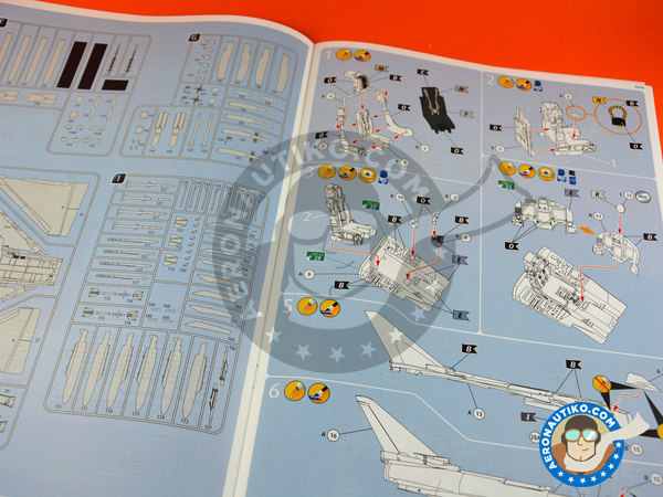 Image 4: Eurofighter Typhoon EF-2000 Single Seater | Airplane kit in 1/48 scale manufactured by Revell (ref.REV03949)