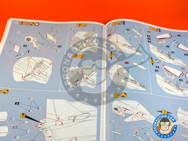 Image 5: Eurofighter Typhoon EF-2000 Single Seater | Airplane kit in 1/48 scale manufactured by Revell (ref.REV03949)