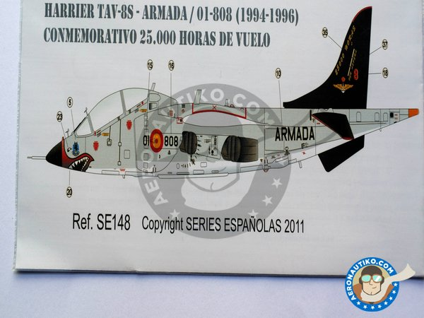"Image 4: McDonnell Douglas AV-8S, TAV-8S ""MATADOR"" 