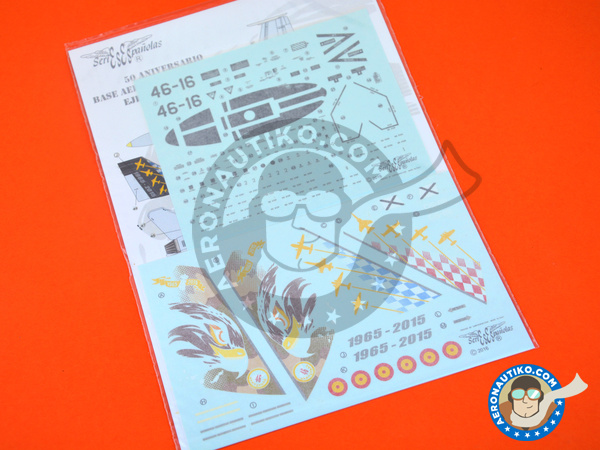 Image 5: McDonnell Douglas F/A-18 Hornet A | Marking / livery in 1/48 scale manufactured by Series Españolas (ref. SE3448)