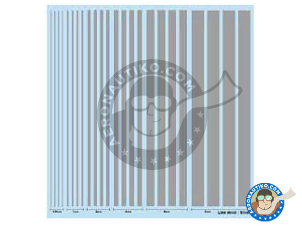 Image 1: Silver lines | Decals manufactured by Studio27 (ref.ST27-FP0030)