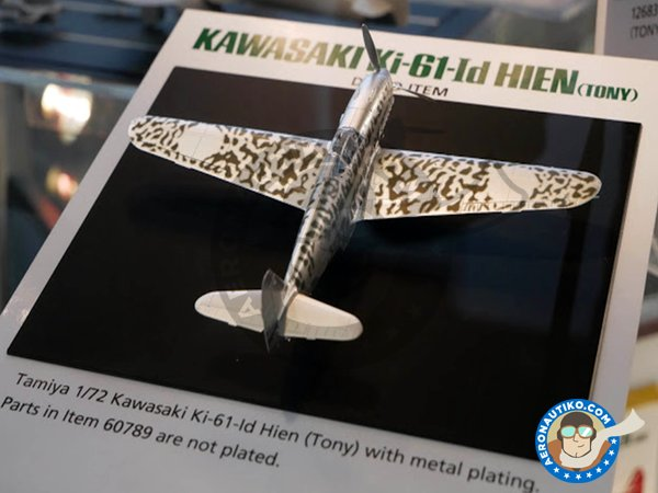 Image 1: Kawasaki Ki-61-Id Hien (Tony) Camouflage decals | Decals in 1/72 scale manufactured by Tamiya (ref. 12683)