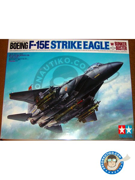 McDonnell Douglas F-15 Strike Eagle E | Airplane kit in 1/32 scale manufactured by Tamiya (ref. 60312) image