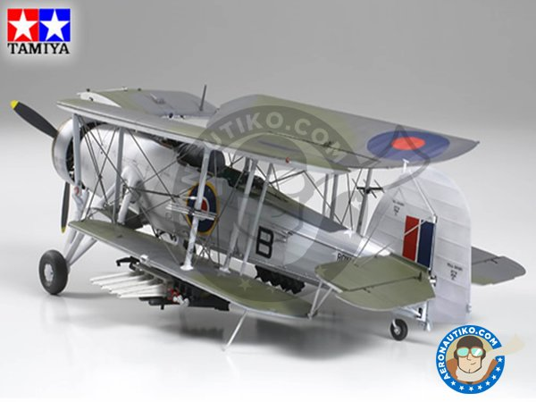 Image 1: Fairey Swordfish Mk.II | Model kit in 1/48 scale manufactured by Tamiya (ref. 61099)