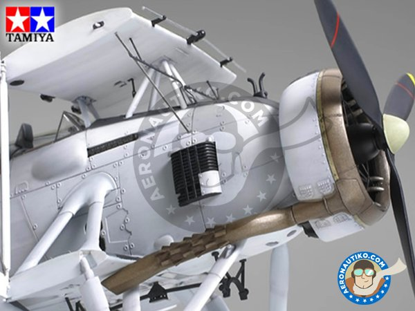 Image 3: Fairey Swordfish Mk.II | Model kit in 1/48 scale manufactured by Tamiya (ref. 61099)