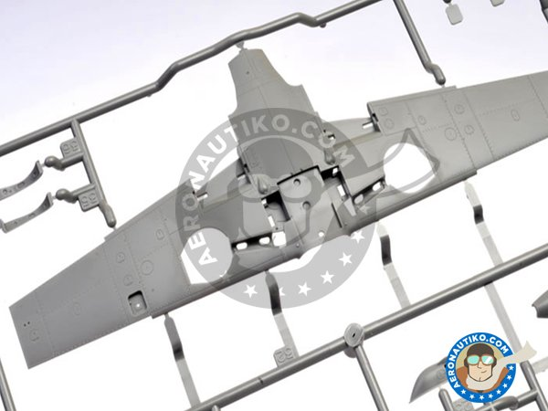 Image 5: Messerschmitt Bf109 G-6 | Airplane kit in 1/48 scale manufactured by Tamiya (ref.61117)