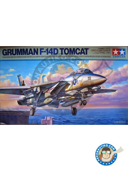 Grumman F-14D Tomcat | New 2018 | Model kit in 1/48 scale manufactured by Tamiya (ref. 61118) image
