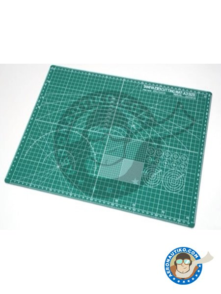 Cutting Mat (A3 Size) | Tools manufactured by Tamiya (ref. 74076) image