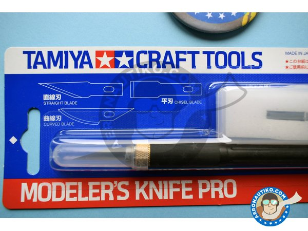 Image 1: Modeler's Knife Pro | Tools manufactured by Tamiya (ref. 74098)