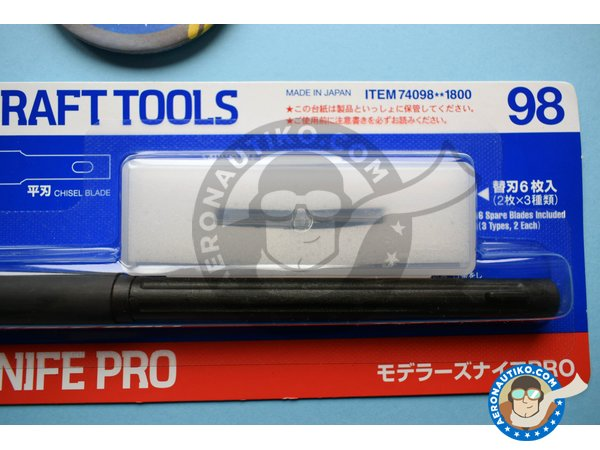 Image 2: Modeler's Knife Pro | Tools manufactured by Tamiya (ref. 74098)