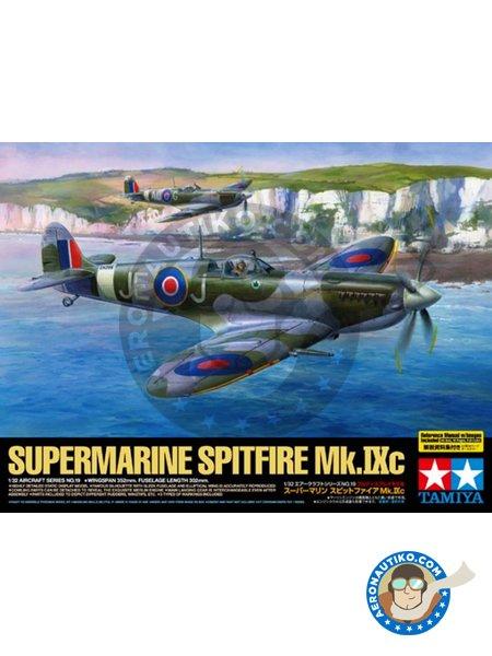 Supermarine Spitfire Mk. IX C | Airplane kit in 1/32 scale manufactured by Tamiya (ref.60319) image