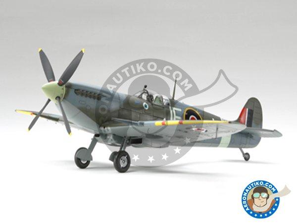 Image 3: Supermarine Spitfire Mk. IX C | Airplane kit in 1/32 scale manufactured by Tamiya (ref.60319)